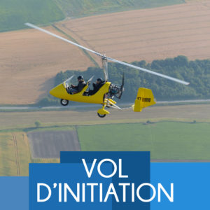Vol d'initiation ULM Autogire 60 minutes